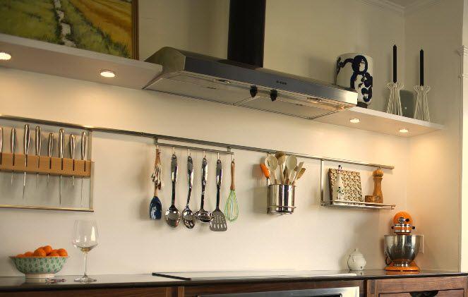 Kesseböhmer Linero mosaiq upper shelf Accessories, Rails System, Kitchen Railing