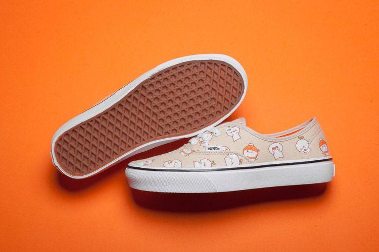 20e523b1cc54e1 Vans Cute Cartoon Character Print Authentic Skate Shoes For Sale  Vans