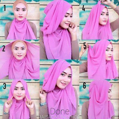 Tutorial Jilbab Pashmina Untuk Lebaran Terbaru Tutorial Hijab Segitiga Tutorial Hijab Wisuda Hijab Tutorial