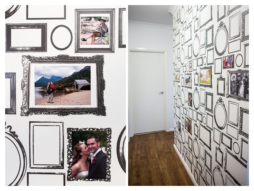 Objects of Design #208: Picture Frame Wallpaper | Framed wallpaper ...