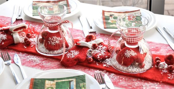 Tischdeko Weihnachten Nordisch