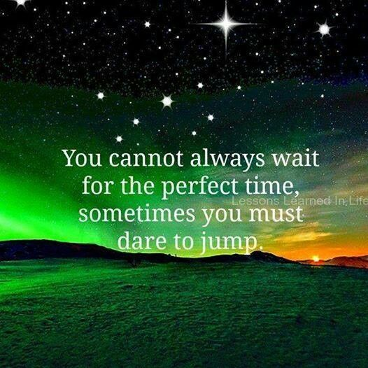 Jump go for it now