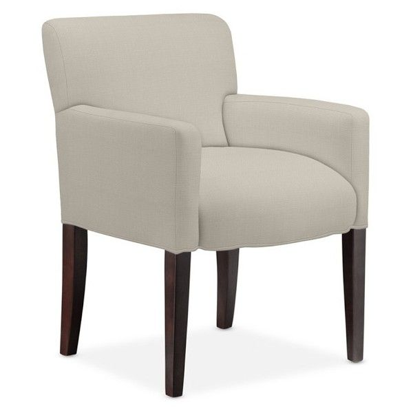 Fitzgerald Upholstered Armchair, Heavy Basket Natural (4.130 VEF) ❤ liked on Polyvore featuring home, furniture, chairs, accent chairs, williams sonoma furniture, fabric armchair, upholstered armchair, upholstered chair and williams-sonoma