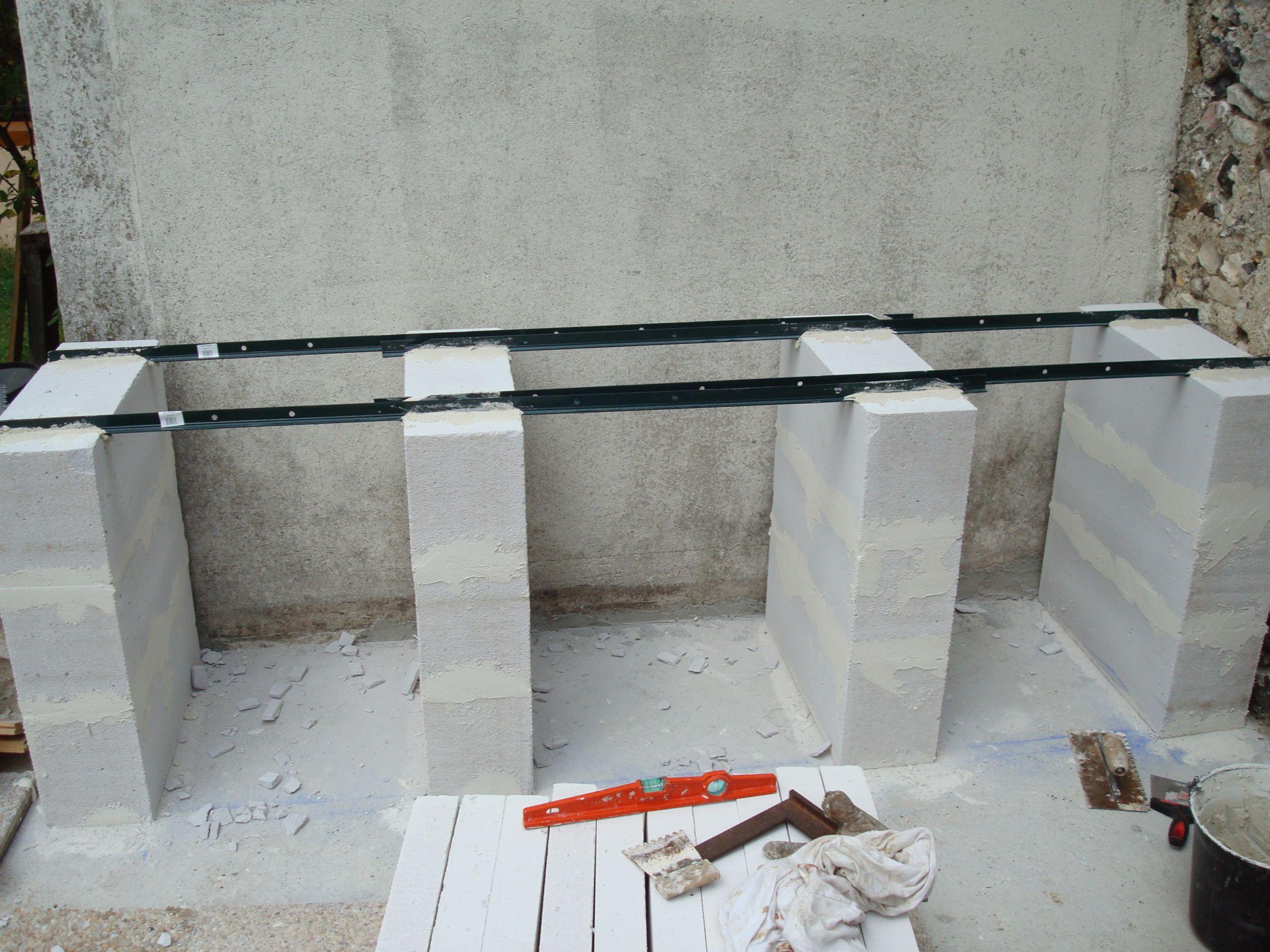 construction d 39 un barbecue sur mesure in 2019 pelio ideas idee barbecue barbecue en beton. Black Bedroom Furniture Sets. Home Design Ideas
