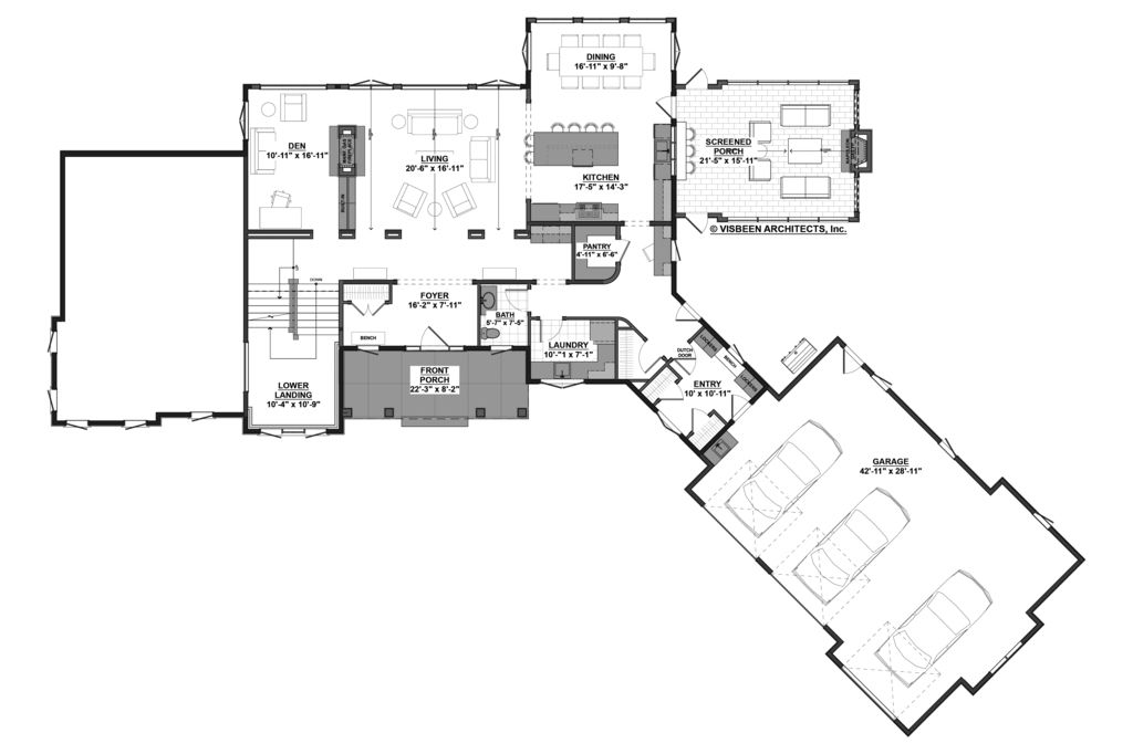 Farmhouse Style House Plan 5 Beds 3 5 Baths 4478 Sq Ft Plan 928