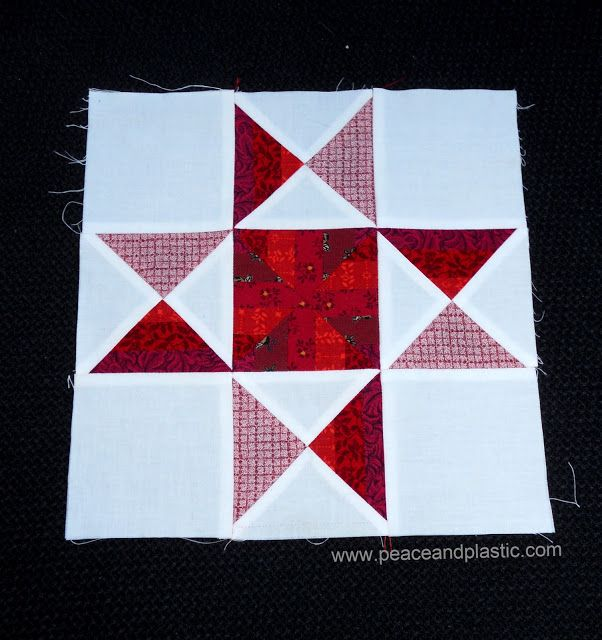 Ohio Star Quilt Block Illustrated Step By Step Instructions In 5 Sizes Quilt Block Patterns Free Star Quilt Patterns Star Quilt Blocks