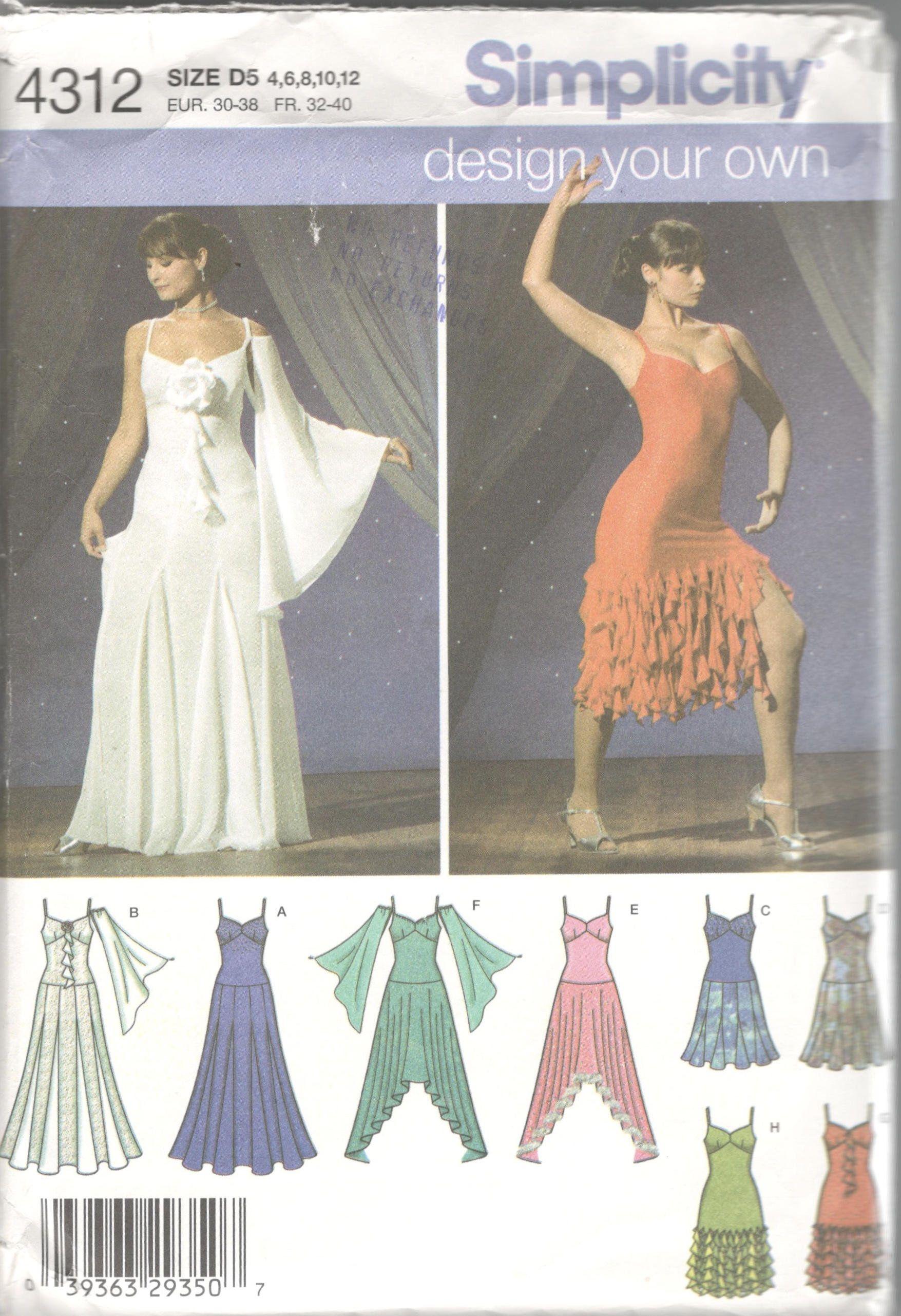 7d041069b19b2 Flamenco Skirt Pattern, Ballroom Gowns, Ballroom Costumes, Dance Costumes, Salsa  Dress,