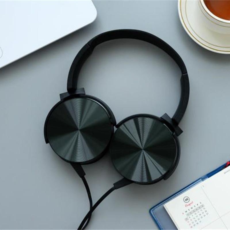 Luxury Beautiful Headband Stereo Headphones w/ Microphone Portable ...