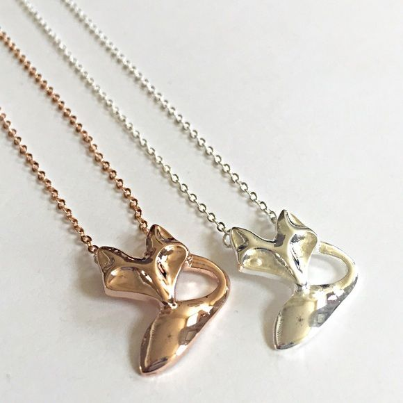 Fox necklace New! 18 inch rose gold or silver plated over stainless steel necklace. Bundle and save 15%. Please comment if you'd like rose gold or silver after ordering. Jewelry Necklaces