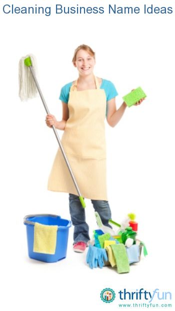 name ideas for cleaning services