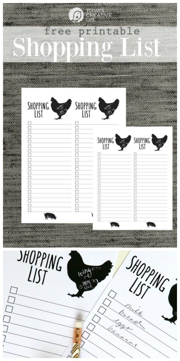 Grocery List Free Printable Free groceries, Free printable and - free shopping list template