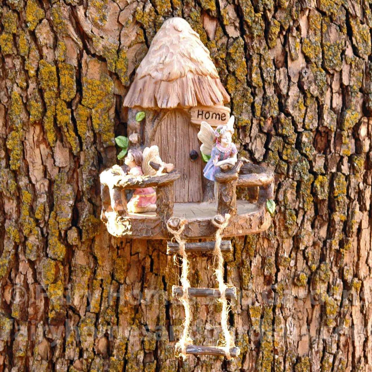 Fairy Homes and Gardens - Woodland Fairy Tree House Door, $24.99 (https://www.fairyhomesandgardens.com/woodland-fairy-tree-house-door/)