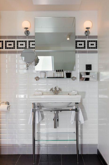 Magnifique Realisation Pour L Hotel Monsieur Par Vincent Bastie Decorateur Photo Conce Carrelage Salle De Bain Renovation Salle De Bain Salle De Bain Design