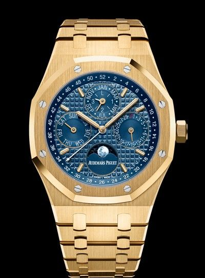 Audemars Piguet Royal Oak Perpetual Calendar Combines Yellow Gold With The Most Classic Complication In All Of Watchmaking Day Date Audemars Piguet Accesorios