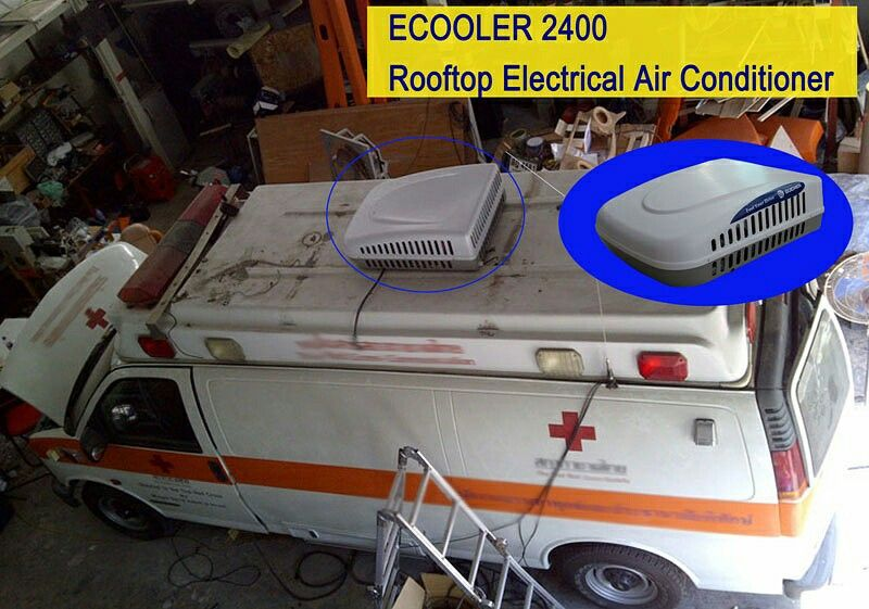 Get More About The Ecooler Type Electrical Rooftop Air Conditioner Http Www Guchen Com Electrical Truck Air Conditioner Ecooler 12v Trucks Cab Electricity