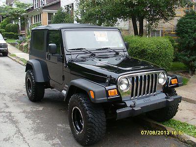 2005 Jeep Wrangler Unlimited Sport Utility 2 Door 4 0l Jeep Wrangler Unlimited 2005 Jeep Wrangler Jeep Wrangler