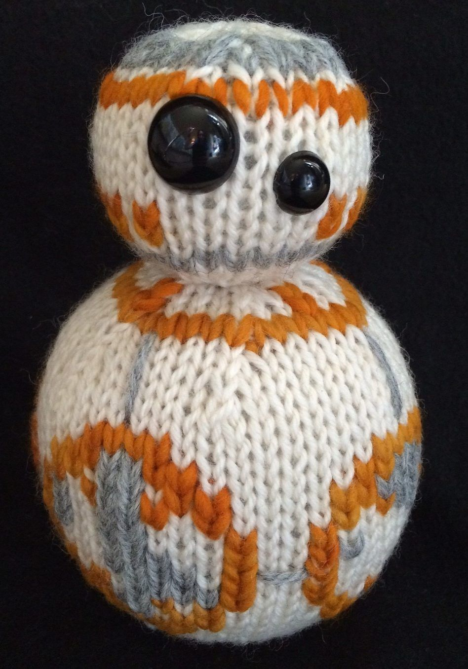 Star wars knitting patterns knitting patterns toy and patterns crochet free knitting pattern for bb 8 toy inspired by star wars bankloansurffo Images