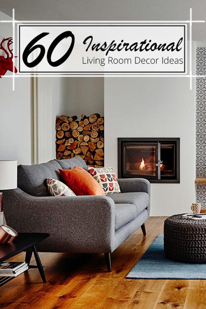 60 Inspirational Living Room Decor Ideas 60
