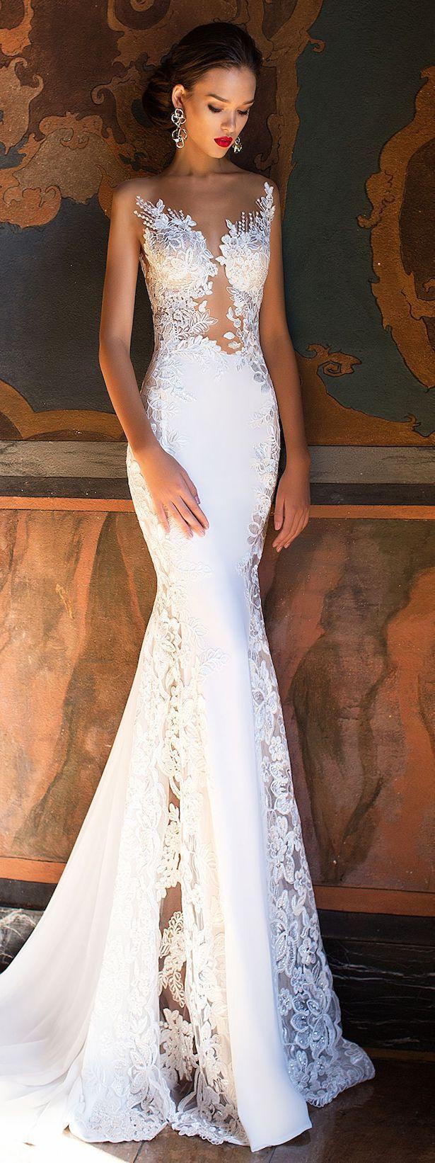 Wedding Dress by Milla Nova White Desire 2017 Bridal Collection - Lorena  Esküvői Ruhák 26e9669d6e