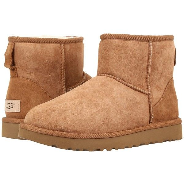 UGG Classic Mini II Fur-Lined Ankle Boots discount store for sale buy authentic online from china for sale Dwl1aB8