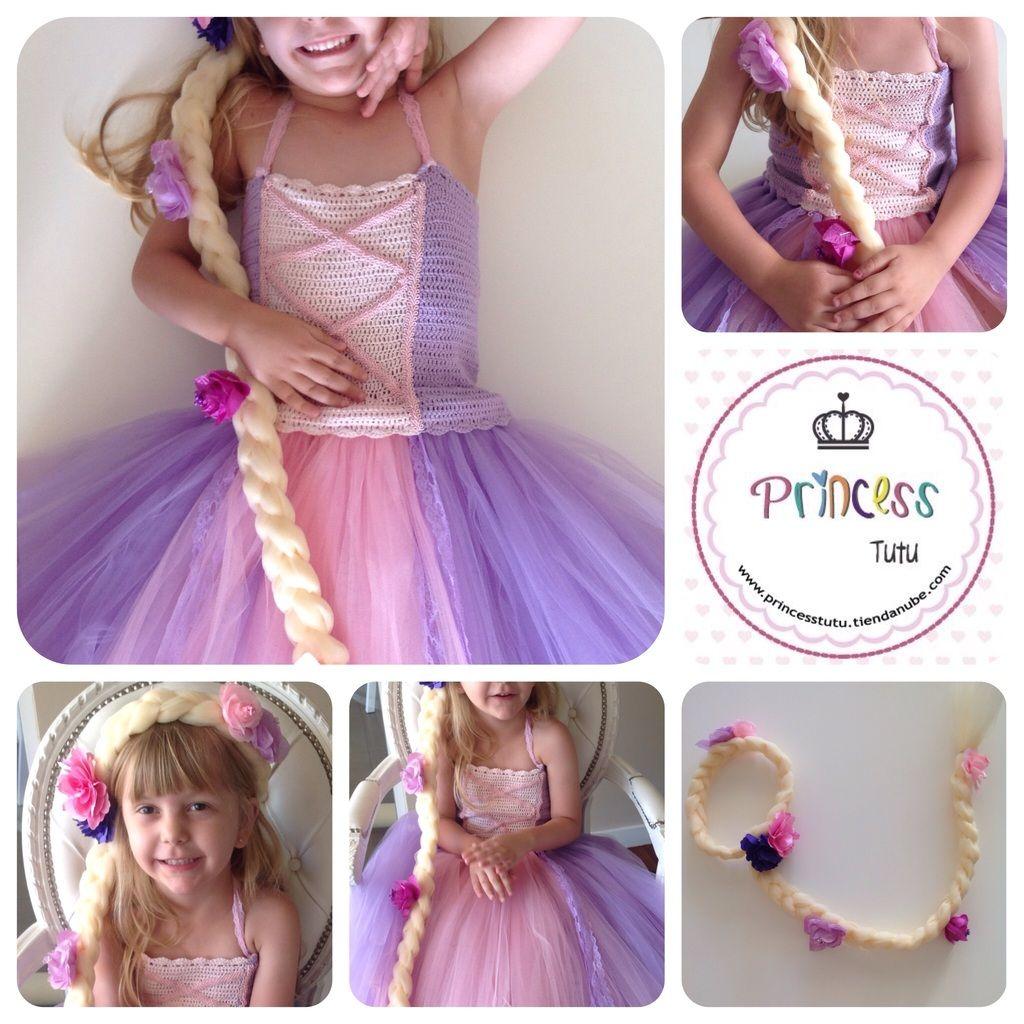 Vestido rapunzel - Comprar en Princess tutu | fiesta rapunzel ...