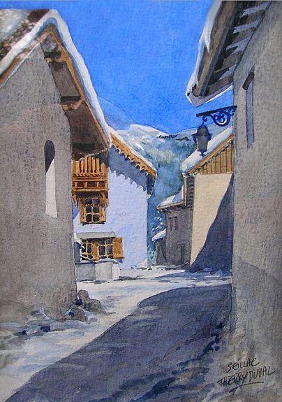 Mountain Village Zhivopis