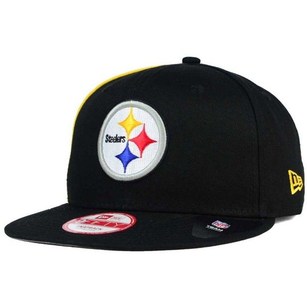 6a55b017dd1 New Era Pittsburgh Steelers Panel Pride 9FIFTY Snapback Cap ( 25) ❤ liked  on Polyvore
