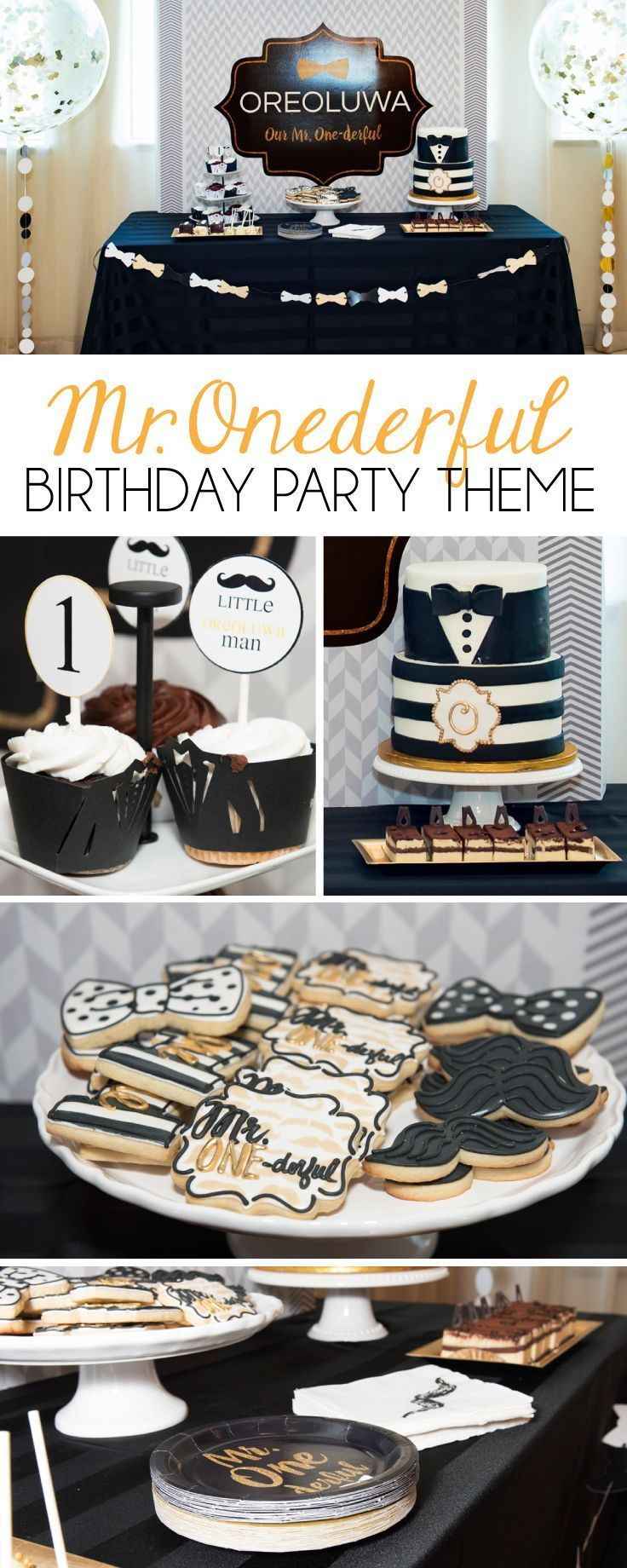 How to Throw a Mr. Onederful Birthday Party - Crowning Details