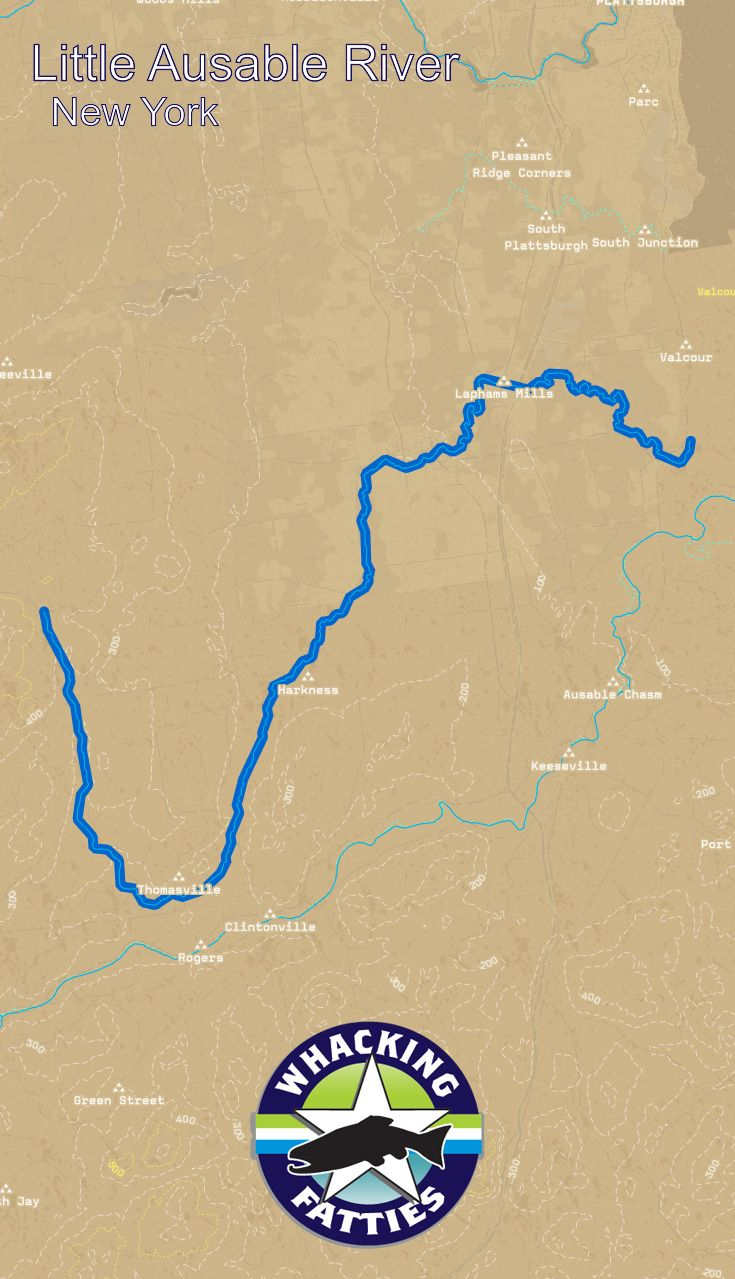 Little Ausable River Fishing Report | Fish Reports | Fishing