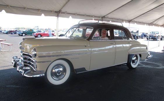 1950 Chrysler Windsor Traveller Chrysler Cars Old Classic Cars