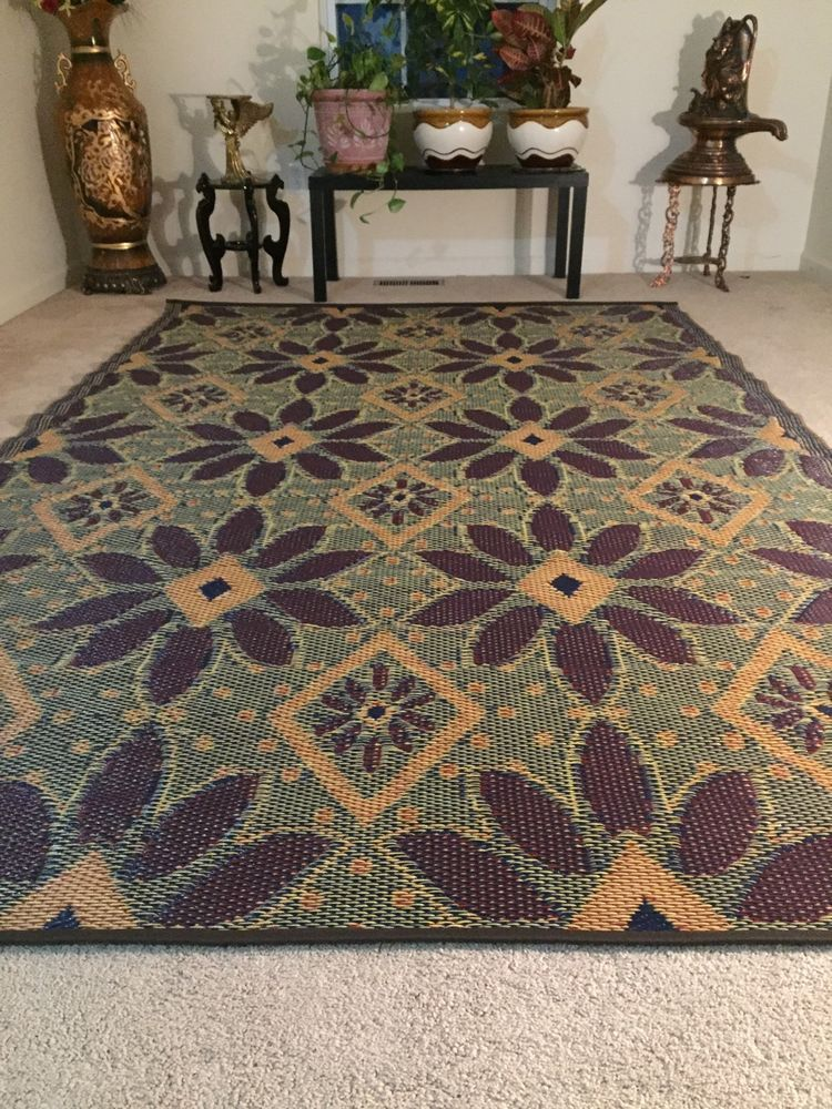 Details About 6 X9 Outdoor Decor Patio Rv Rug Mat