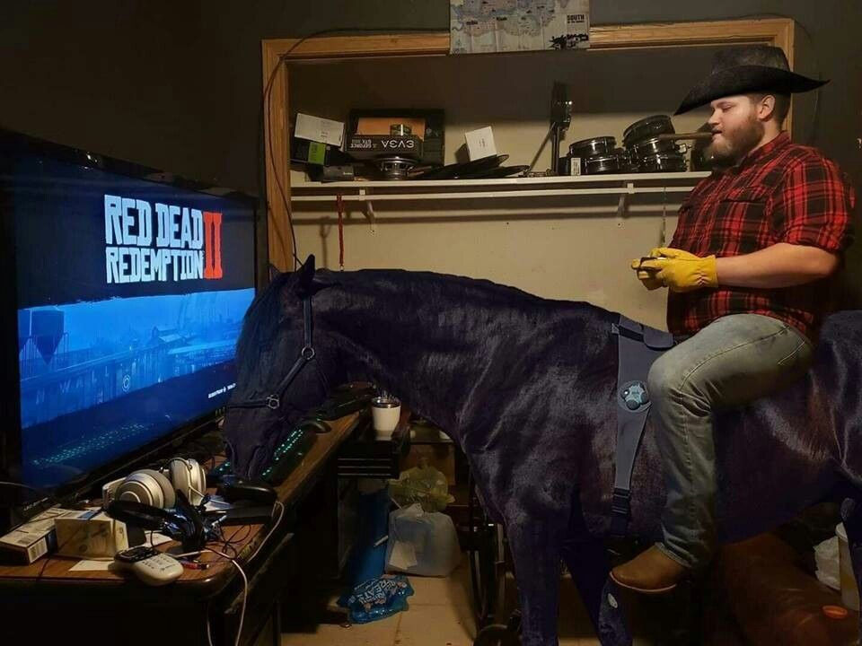This Is How You Play Rdr2 Red Dead Redemption Funny