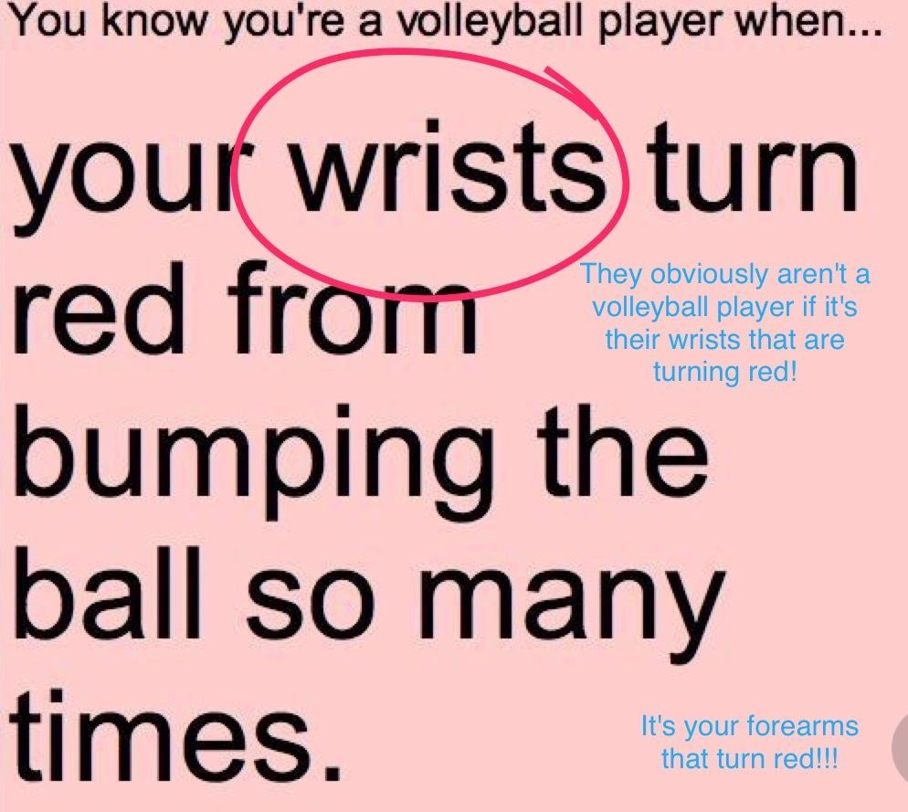 These People Have Obviously Never Played Volleyball Volleyball Players Volleyball Jokes Volleyball