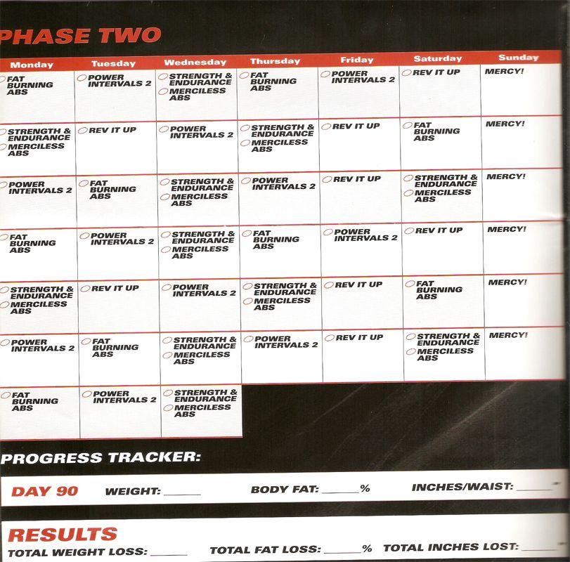 RevABS phase 2 Monday tuesday wednesday, Monday tuesday