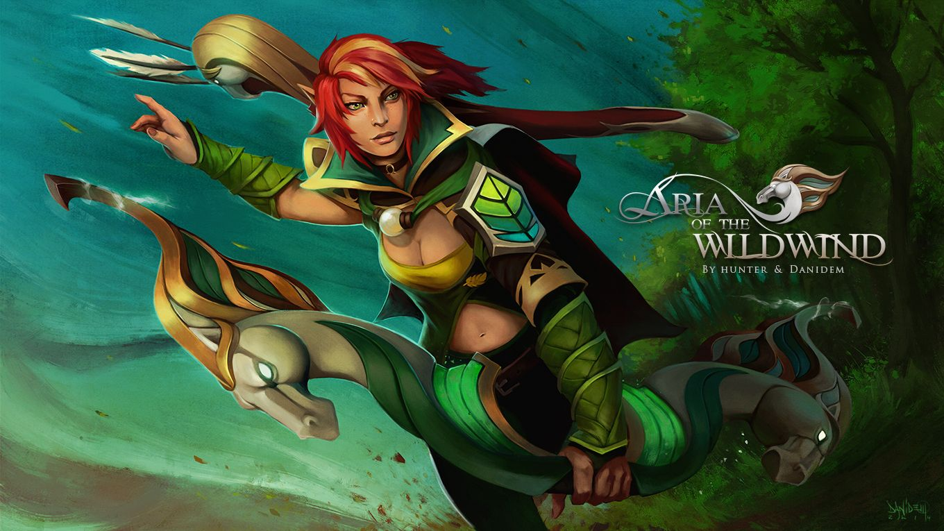 windranger aria of the wild wind wallpaper more http