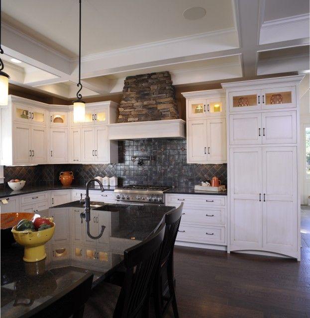 Kitchen Cabinets Albany Ny: Stone Hood, Stack Cabinets, Inlay Doors