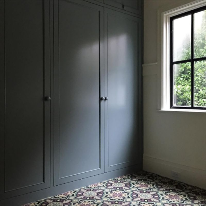 Perfect Mudroom / Unpainted Exterior Entry Door / Exterior Bump Out / Interior Doors  / Eclectic Classic
