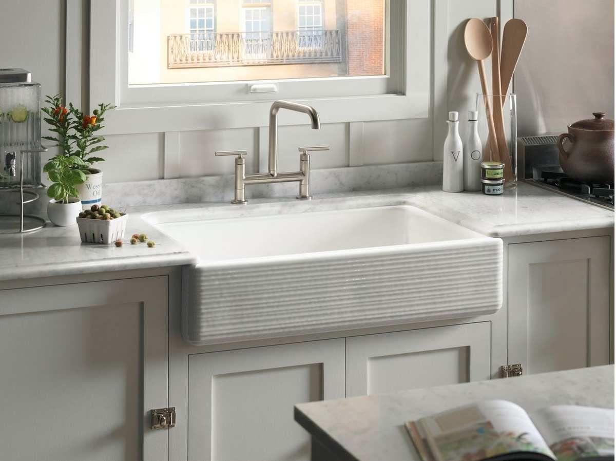Enamel Cast Iron Kitchen Sink | Kitchen Design Ideas | Pinterest ...