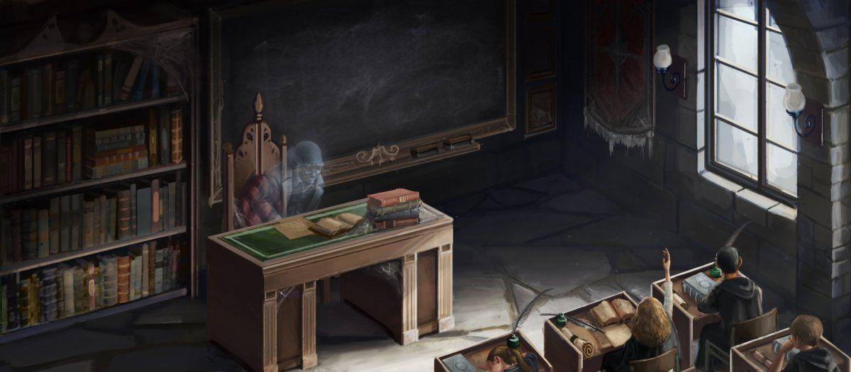 Harry Potter Cuthbert Binns Teaching About The Chamber Of Secrets Pottermore Hogwarts Harry Potter Movies