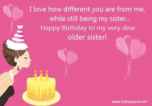 Funny Happy Birthday To Older Sister Happy Birthday Sister