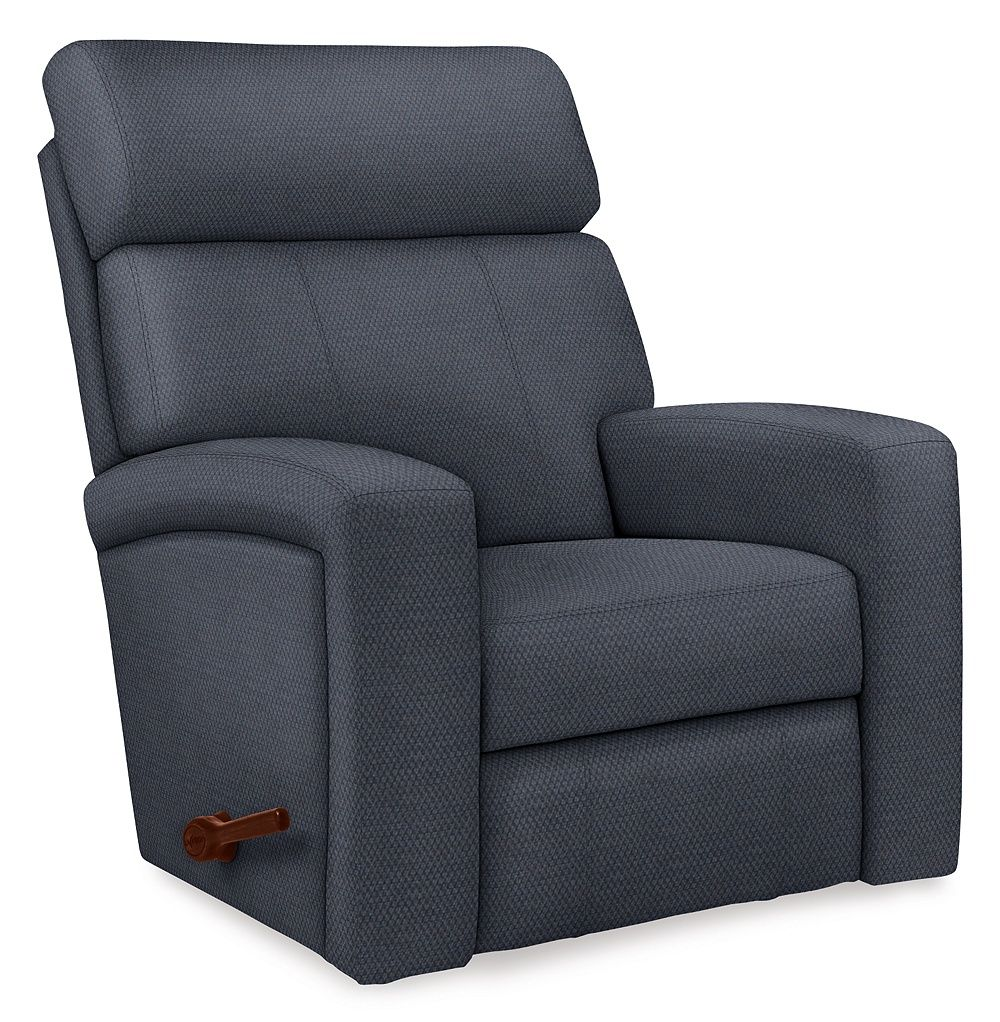 Do you have an Agent? If not, we'd like to suggest this Reclina-Way recliner. Not only is it the epitome of fit, form and function, its contemporary lines and exaggerated head roll and supportive back and seat make it difficult to resist. And you only need a few inches between the chair and wall to recline. Now do you see why you need one?