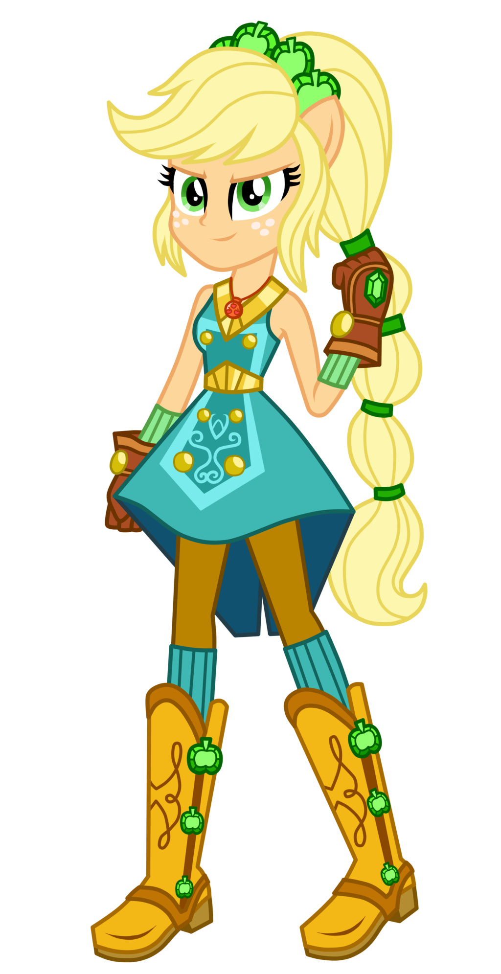 Legend of Everfree] Applejack by MixiePie | My Little Pony