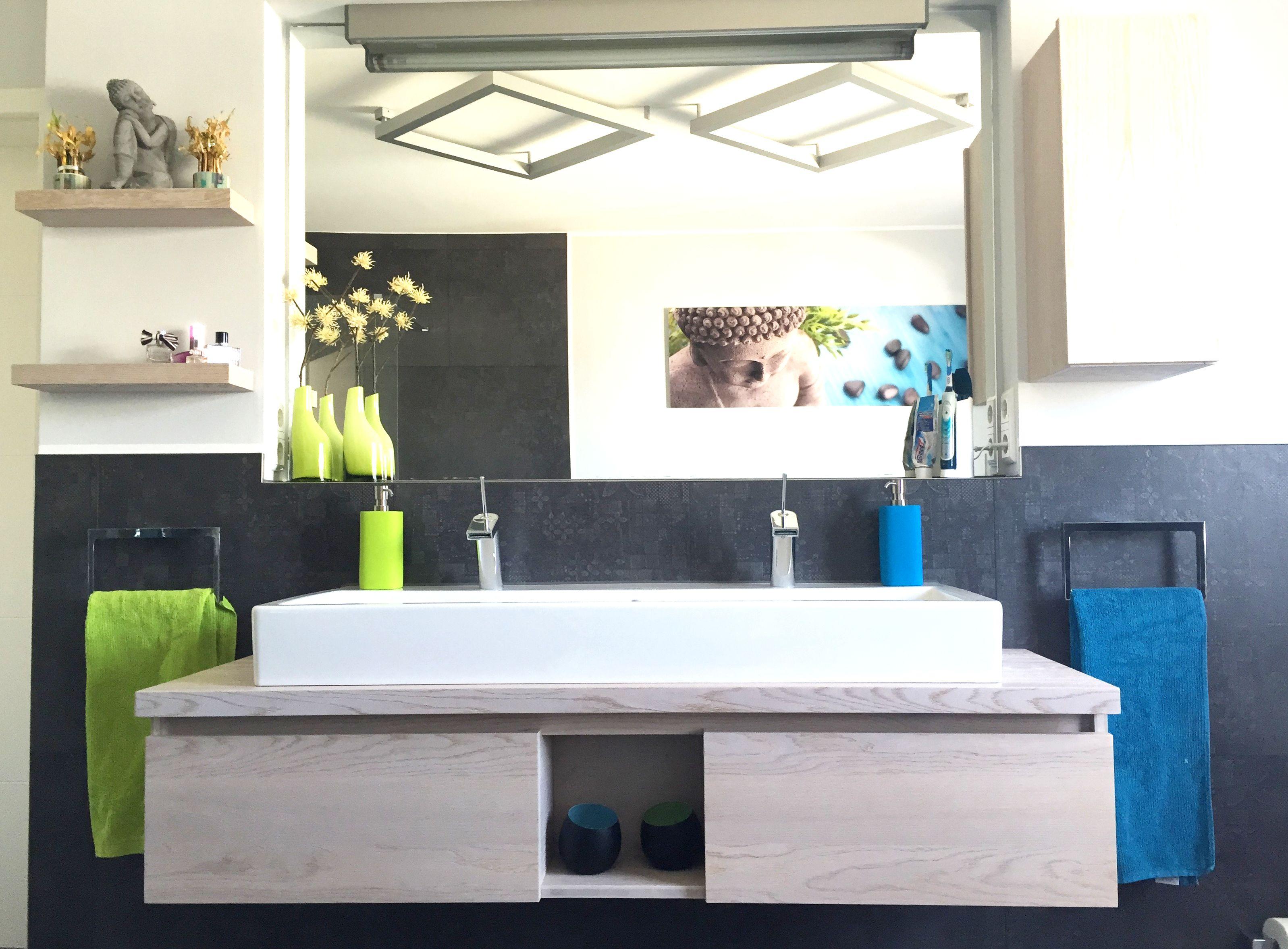 waschtisch in holz badumbau badezimmer sch n gestalten. Black Bedroom Furniture Sets. Home Design Ideas
