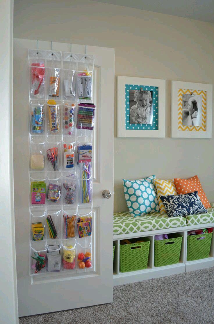 Como organizar y decorar habitaciones infantiles | Dormitorios ...