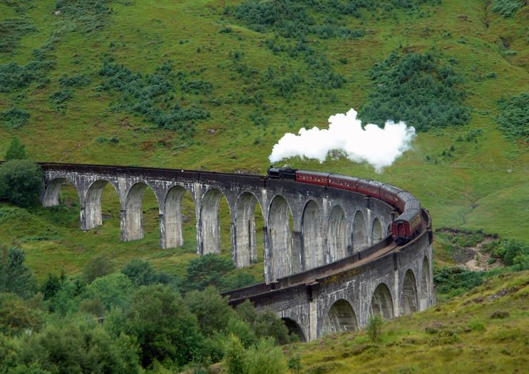 Jacobite Steam Train The Scottish Highlands Attractions From Viator Com Edinburgh Attractions Harry Potter Filming Locations Hogwarts Express Train