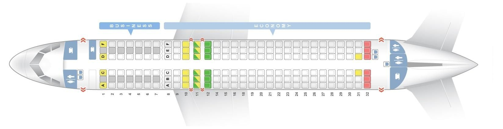 Seat Map And Seating Chart Airbus A320neo Lufthansa Airbus Fleet Vueling Airlines