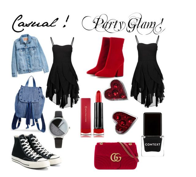 by andrea27lobo on Polyvore featuring H&M, Converse, Steve Madden