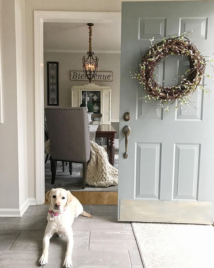 Changing Of The Seasons = Changing Of The Door Wreath