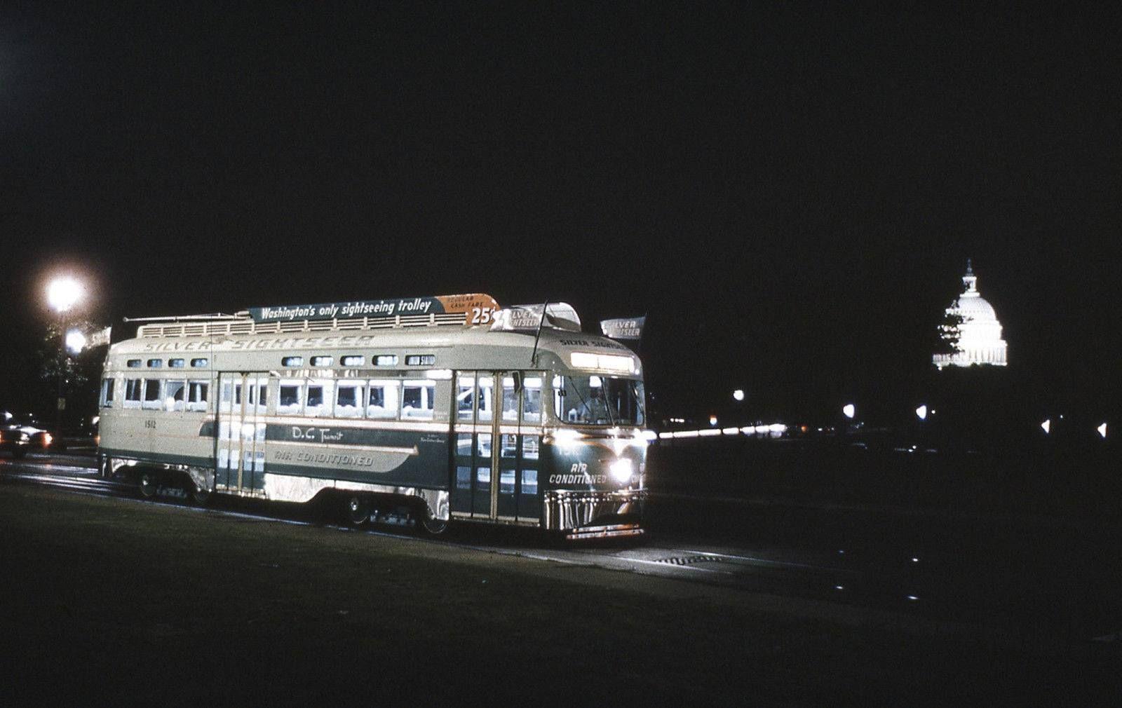 DC Transit Silver Sightseer PCC (1960) (Old Time DC