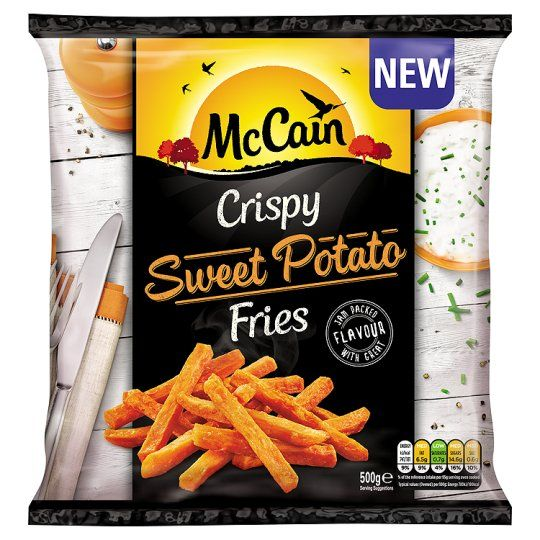 Mccain Sweet Potato Fries 500G - Groceries - Tesco Groceries